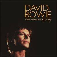 Cover David Bowie - A New Career In A New Town [1977-1982]